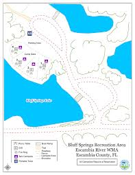 Crestview Florida Map by Bluff Springs Recreation Area Northwest Florida Water Management