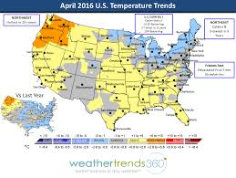 us weather map for april april 2016 global weather summary weathertrends360