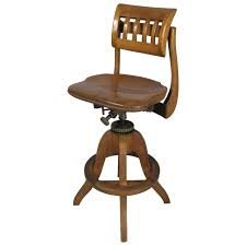 Drafting Table Stools by Antique Industrial Adjustable Drafting Stool By Sikes At 1stdibs