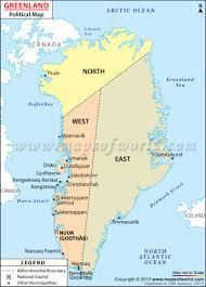 Baffin Bay On World Map by Cities In Greenland 800x1112 Mapporn