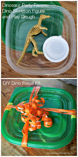 dinosaur party favors dinosaur crafts diy fossil kit and party favors