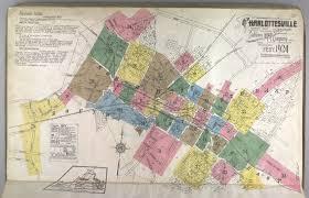 Map Of Charlottesville Va Creating A Historical Spatial Database Of Charlottesville Va