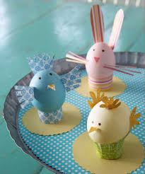 Easter Egg Decorating On Paper by Easter Paper Crafts Easy Easter Craft Ideas