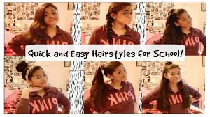 quick and easy hairstyles for running easy hairstyles for running late hair
