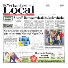 07 26 17 by the mechanicsville local issuu