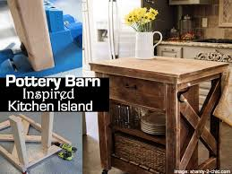 pottery barn kitchen islands pottery barn inspired kitchen island