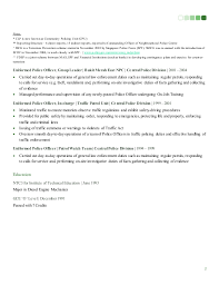 Police Officer Job Description For Resume by Zaninibrahim Resume Linkedin