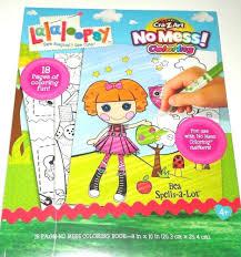 lalaloopsy bea spells lot mess free coloring book craz art 18