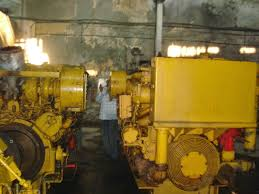caterpillar motor ship machinery used recondition