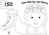 winter hat coloring pages clothing pieces for the book the hat by jan brett only sock shown