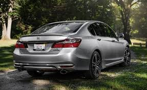 what is the luxury car for honda 2016 honda accord v 6 sedan test review car and driver
