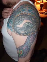 tool third eye tattoo on shoulder tattoos book 65 000 tattoos