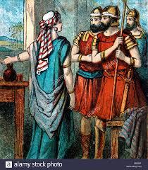 bible stories illustration of the king of jericho u0027s men were sent