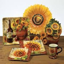 Sunflower Home Decor Sunflower Decorating Count Your Blessings Wall Decor At