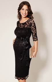 lace dress amelia lace maternity dress black maternity wedding