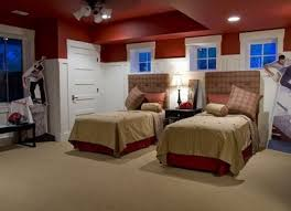 red paint color for a kids room design dazzle