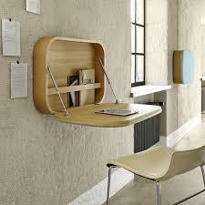 bureau pliable mural 12 idées déco de bureau mural rabattable wall mounted desk ligne