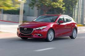 mazda sedan models 2018 mazda3 offers automatic braking for everyone roadshow