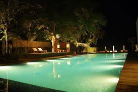 Pool Landscape Lighting Ideas Outdoor Pool Lighting