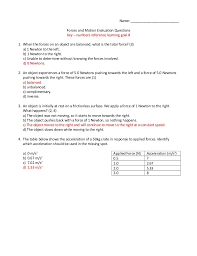 identifying forces worksheet answers 28 templates forces and