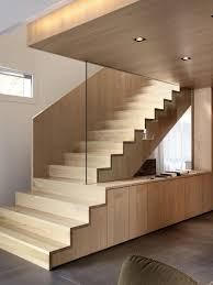 awesome nice design interior stair design that has white wall and