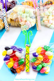 perfect butterfly crafts kids make for snack time natural beach