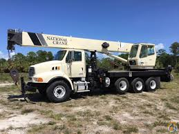 used kenworth trucks for sale in florida 2006 national 14127 33 ton sterling 4 axle florida crane for sale
