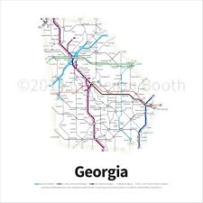 Interstate 95 In Georgia Wikipedia Map Of Georgia Cities Georgia Road Map Ga Map Georgia State Map