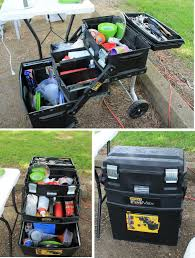 Portable Camping Kitchen Organizer - 14 best chuck boxes images on pinterest camping box diy and