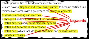 Tire Technician Job Description Resume Job Listings Decoded Tire Maintenance Technician Aol Finance