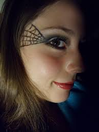 pretty halloween eye makeup luhivy u0027s favorite things halloween makeup spider web
