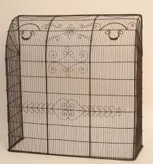 wire fireplace screen 28 images 19th century brass and wire