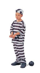 Halloween Jail Costumes Prisoner Boy Costume