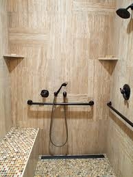 Handicapped Accessible Shower Houzz - Bathroom designs for handicapped