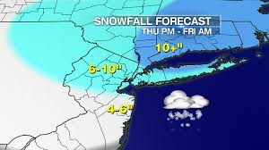 Long Island New York Map by Blizzard Warning Issued For Long Island As Snow Storm Nears New