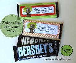 christmas 14 father u0027s day themed candy bar wraps for reg bars