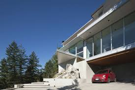 modern house 4249 by dgbk architects keribrownhomes architecture white exterior color contemporary house design in canada with garage under house modern