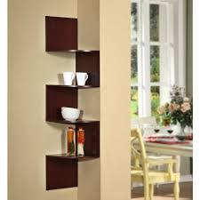Wood Corner Shelf Design by Wall Shelves Design Cherry Floating Wall Shelves Design Dark