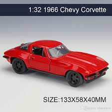 collectible model cars 2017 1 32 diecast model car 1966 chevy corvette vehicle play