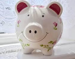 Keepsake Piggy Bank Piggy U0026 Savings Banks Bits U0027n U0027 Bobs And Keepsakes