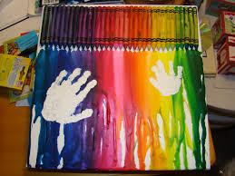 decor u0026 tips creative melted crayon art ideas for artwork design