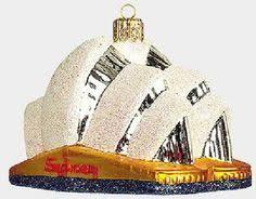 sydney opera house ornament glass opera ornaments and glasses