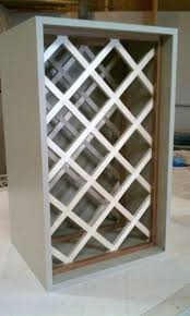 how to build a wine rack in a cabinet wine rack built in cabinet wine rack how to build a lattice over