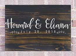 customizable guest books fast shipping wedding guest book rustic wooden guest book sign