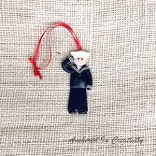sailor ornament navy ornament by anchorincreativity navy