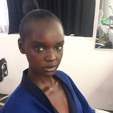 Top Model Hair Extensions by Model Duckie Thot On Embracing Her Natural Hair Teen Vogue