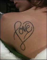 nape nice love heart tattoo golfian com