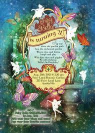 fairy fairies fairy garden party invitation fairy