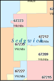 zip code map wichita ks wichita zip code map bnhspine com