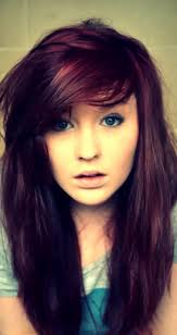 purple red hair color love this wish i were brave enough to go